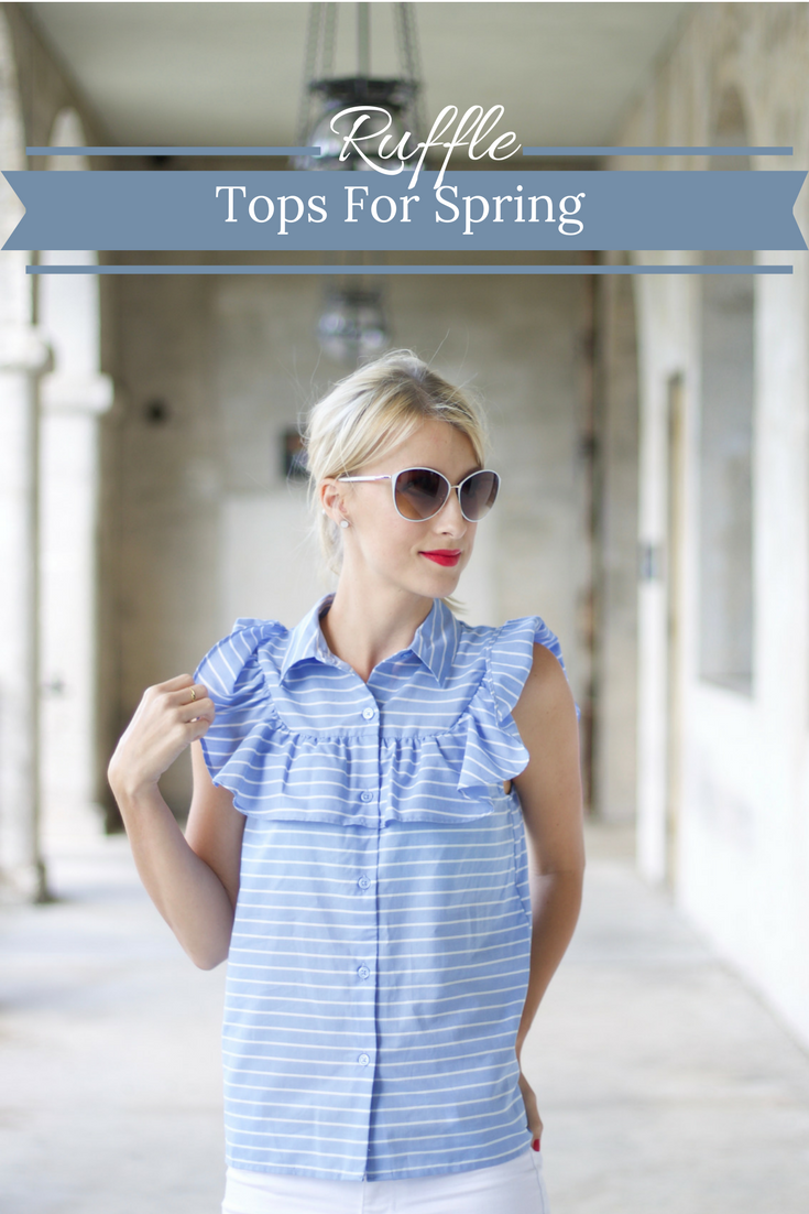 Ruffle Top Outfits Spring